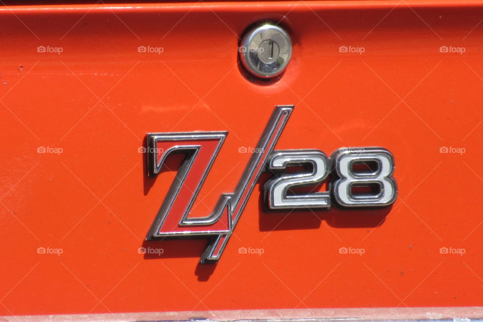 1969 Camaro emblem