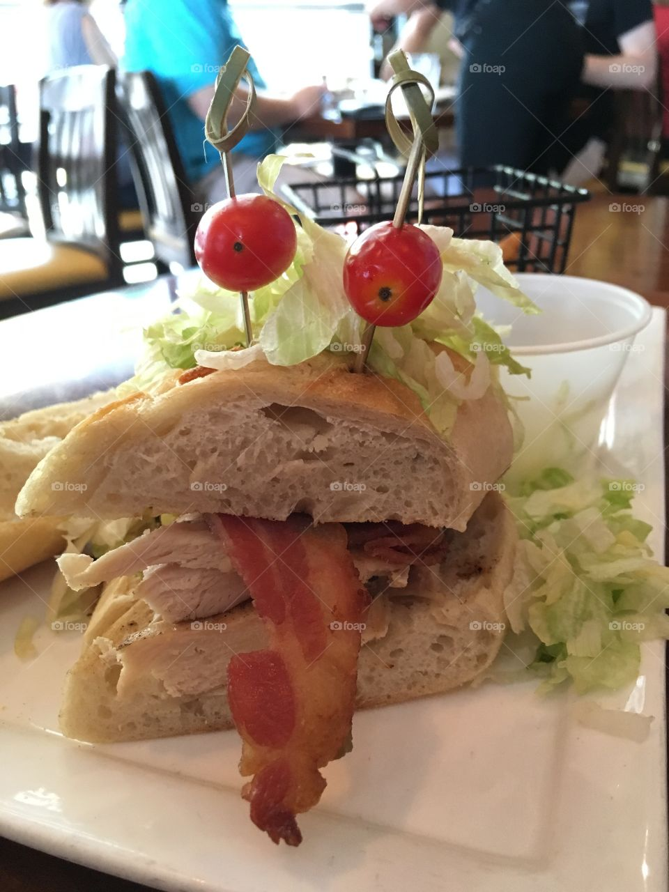 My favorite sandwich has a face and from Disney Springs in Florida