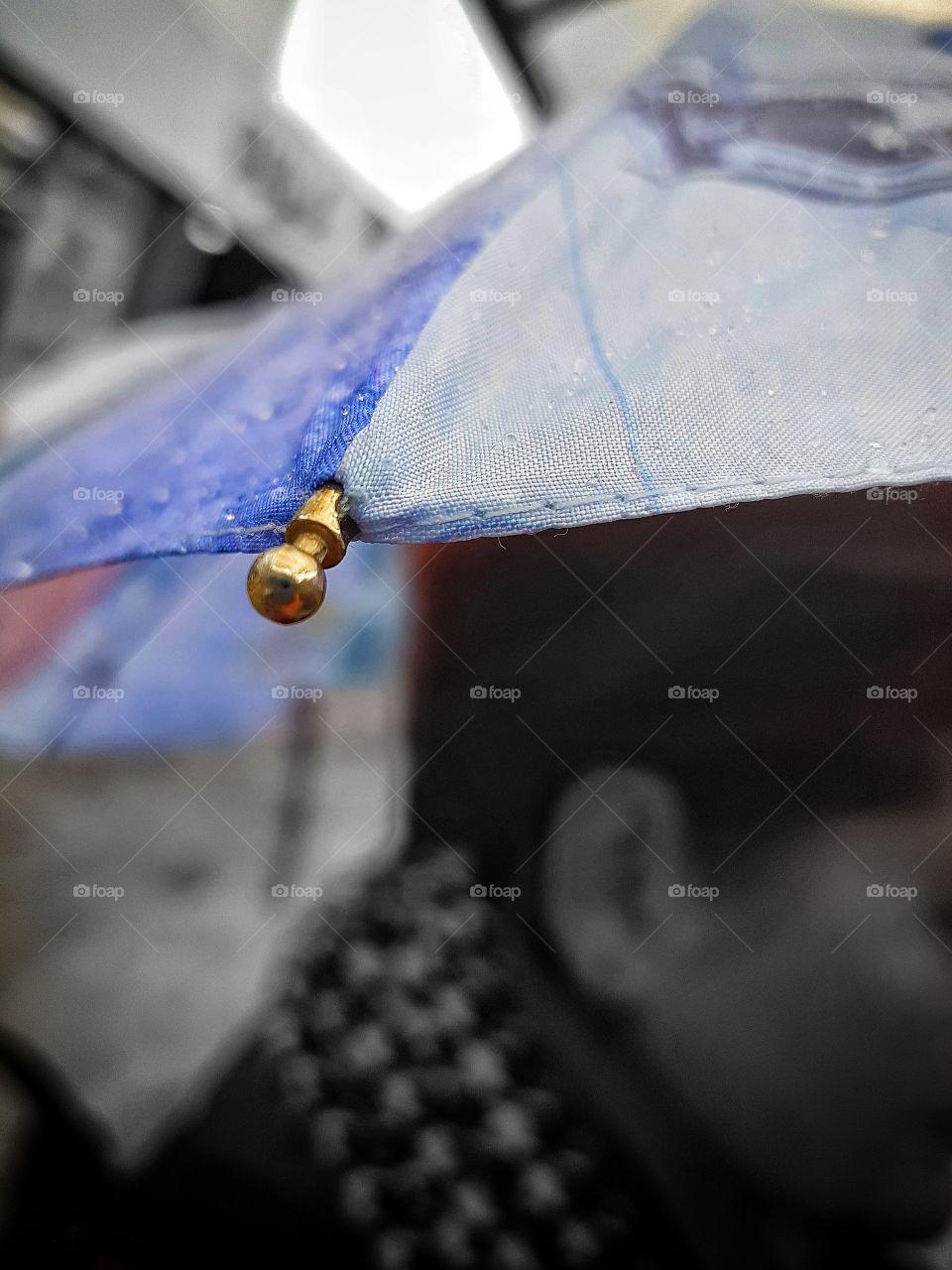 Rainy day in Bucharest.