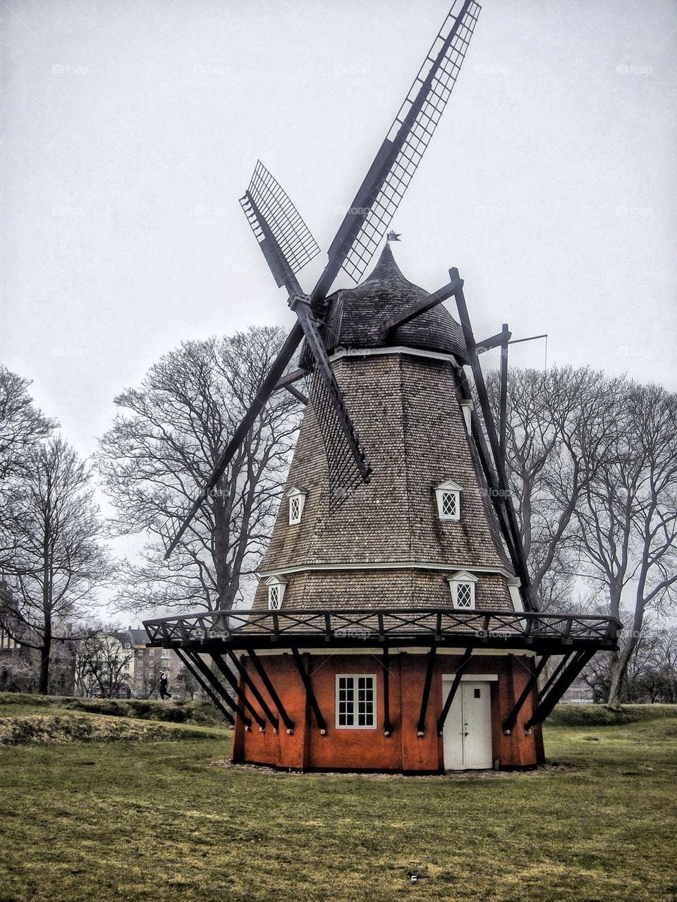 Windmill in the park...
