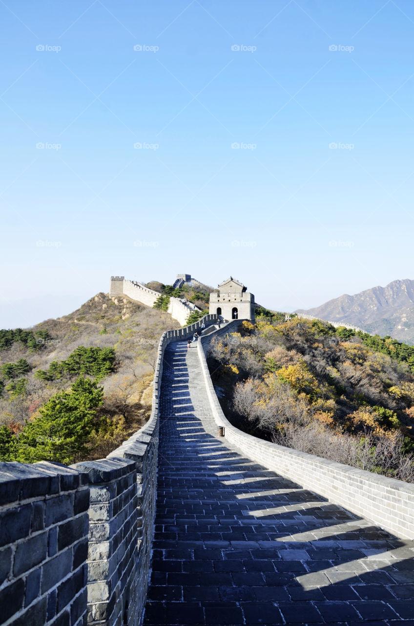 travel china history great wall by seasky