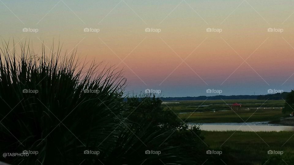 No Person, Water, Sunset, Dawn, Landscape
