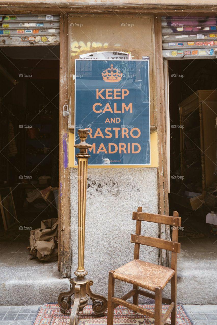 Rastro de Madrid 01. Rastro de Embajadores en Madrid