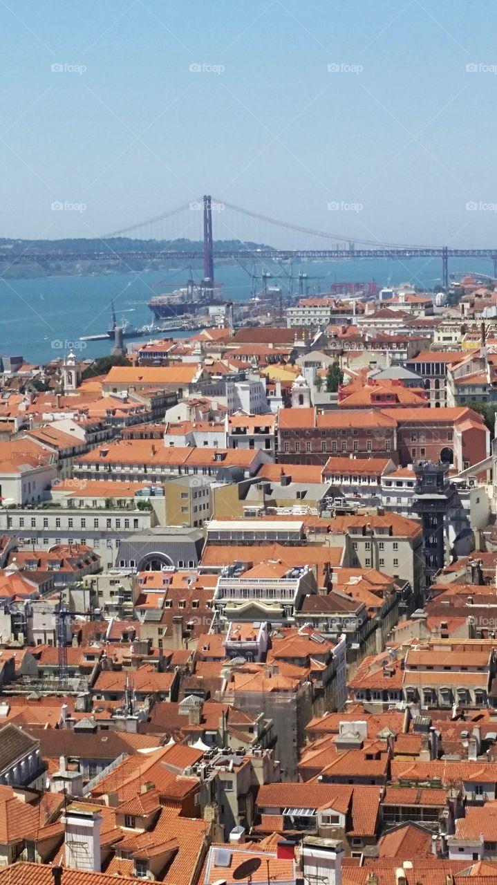 Lisbon's roofs