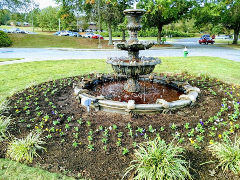 Water, Garden, Fountain, Pool, Park