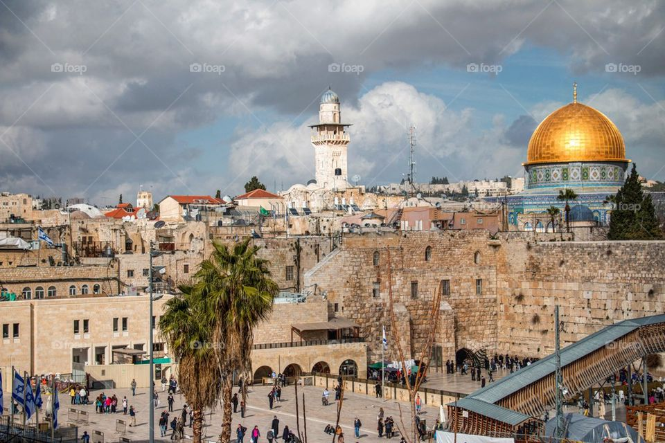 View of a jerusalem, israel