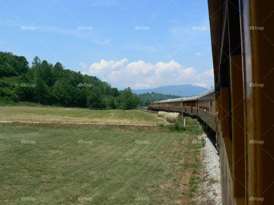 Great Smoky Mountains Railroad Tuckaseegee River Excursion Train