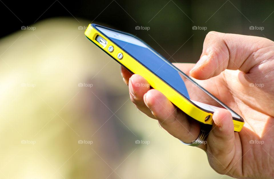 Keep getting mobile phone