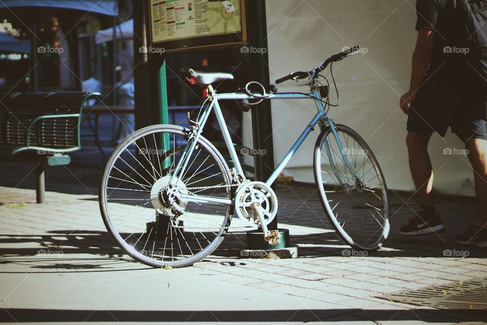 cycle and cycling is a part of urban life