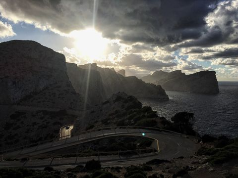 Road to the highest lantern in Mallorca, gave us emotions we never experienced before.