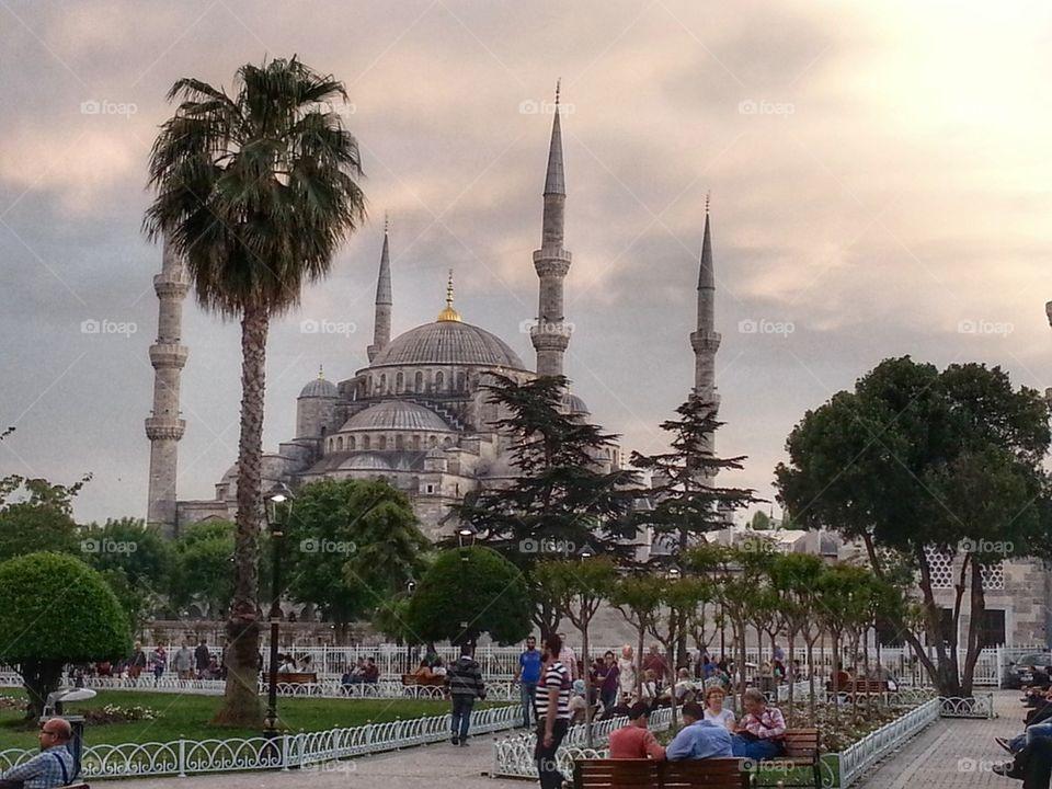 Sultanahmet Camii, Blue Mosque,Istanbul,Turkey