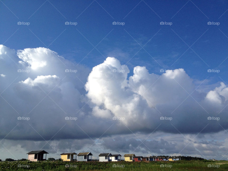 beach sky strand cloud by ebbaunlimited