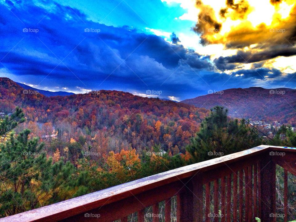 Fall in The Great Smokey Mountains