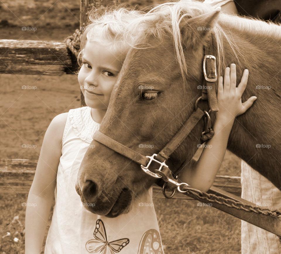 A Precious Little Girl