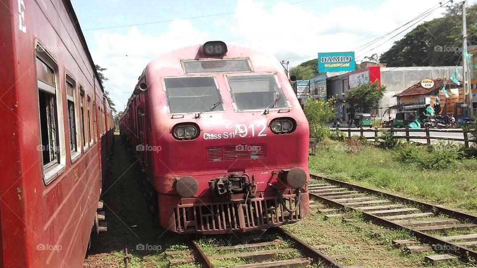 Train, Railway, Locomotive, Railroad Track, Transportation System