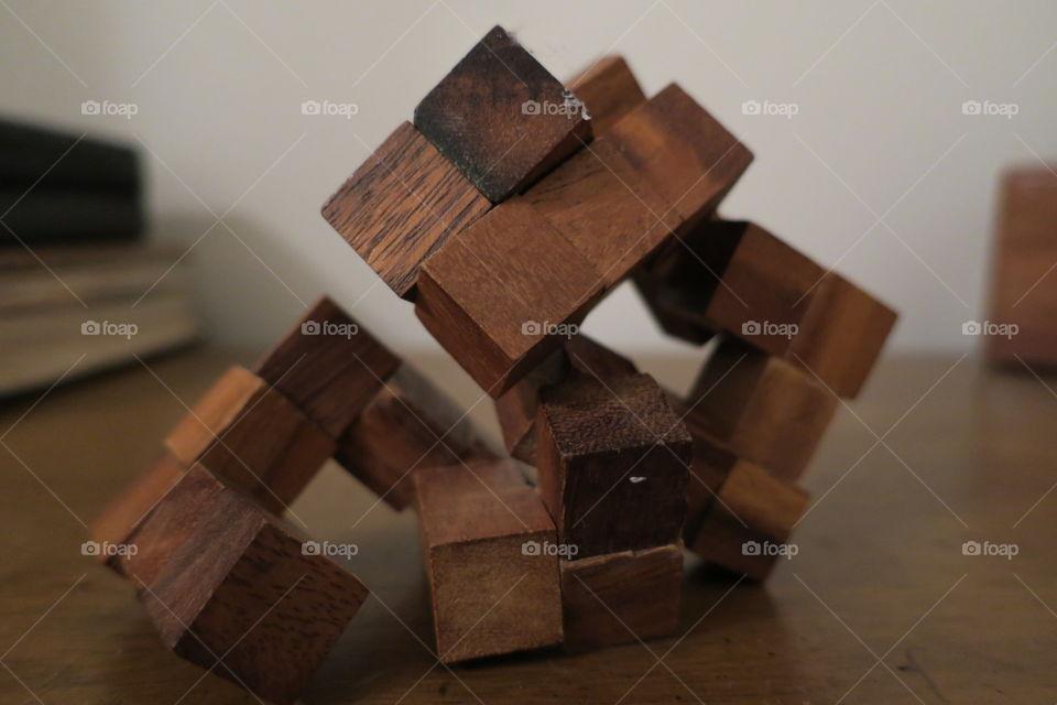 wooden puzzle