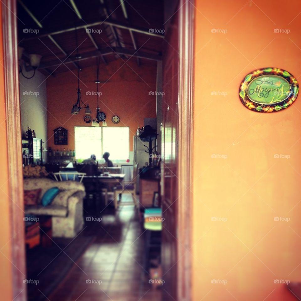 Panamanian breakfast nook