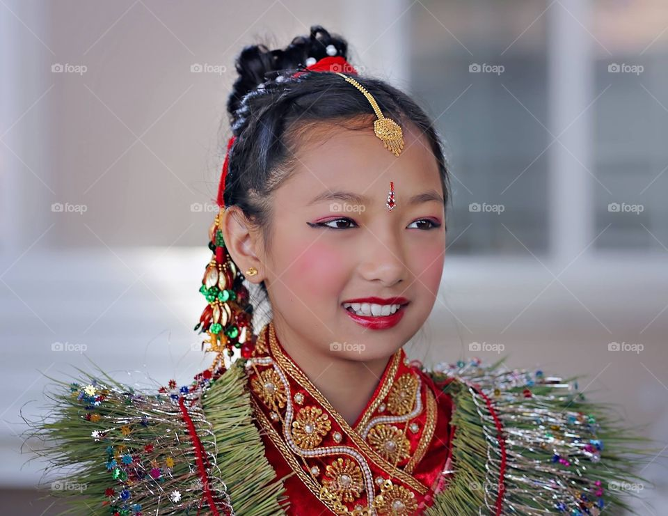 Traditional, Nepalese outfit