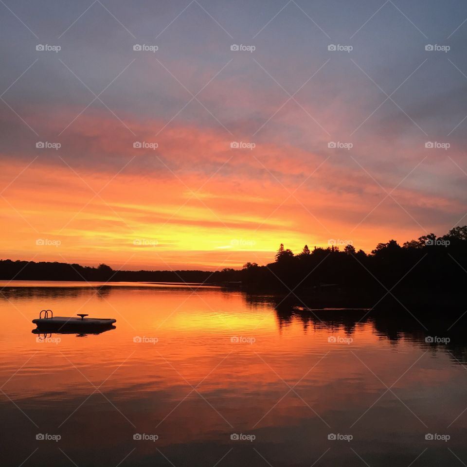 Crosslake Sunrise