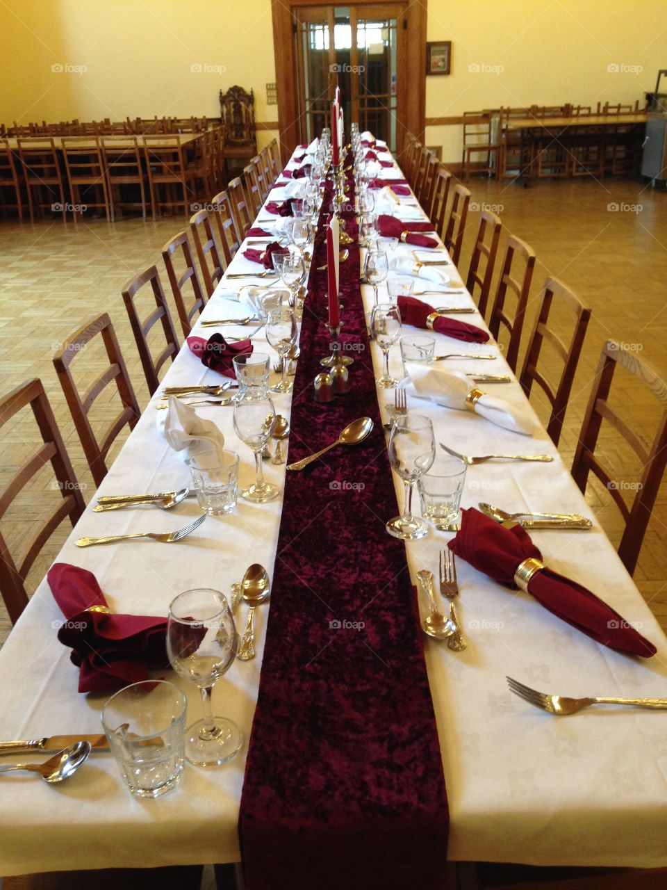Dining hall college Oxford