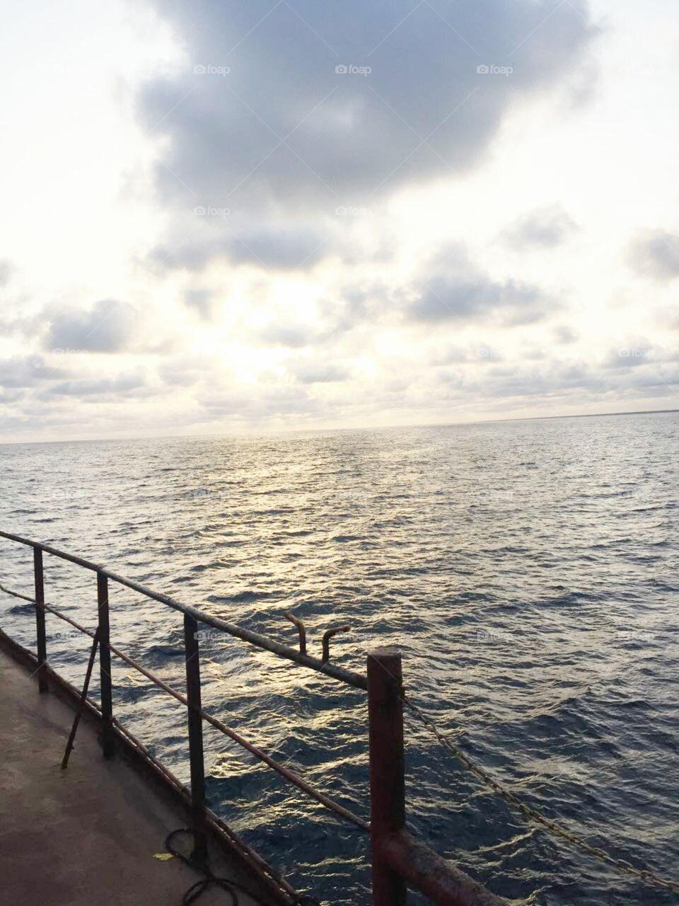 Water, Sea, Ocean, No Person, Travel