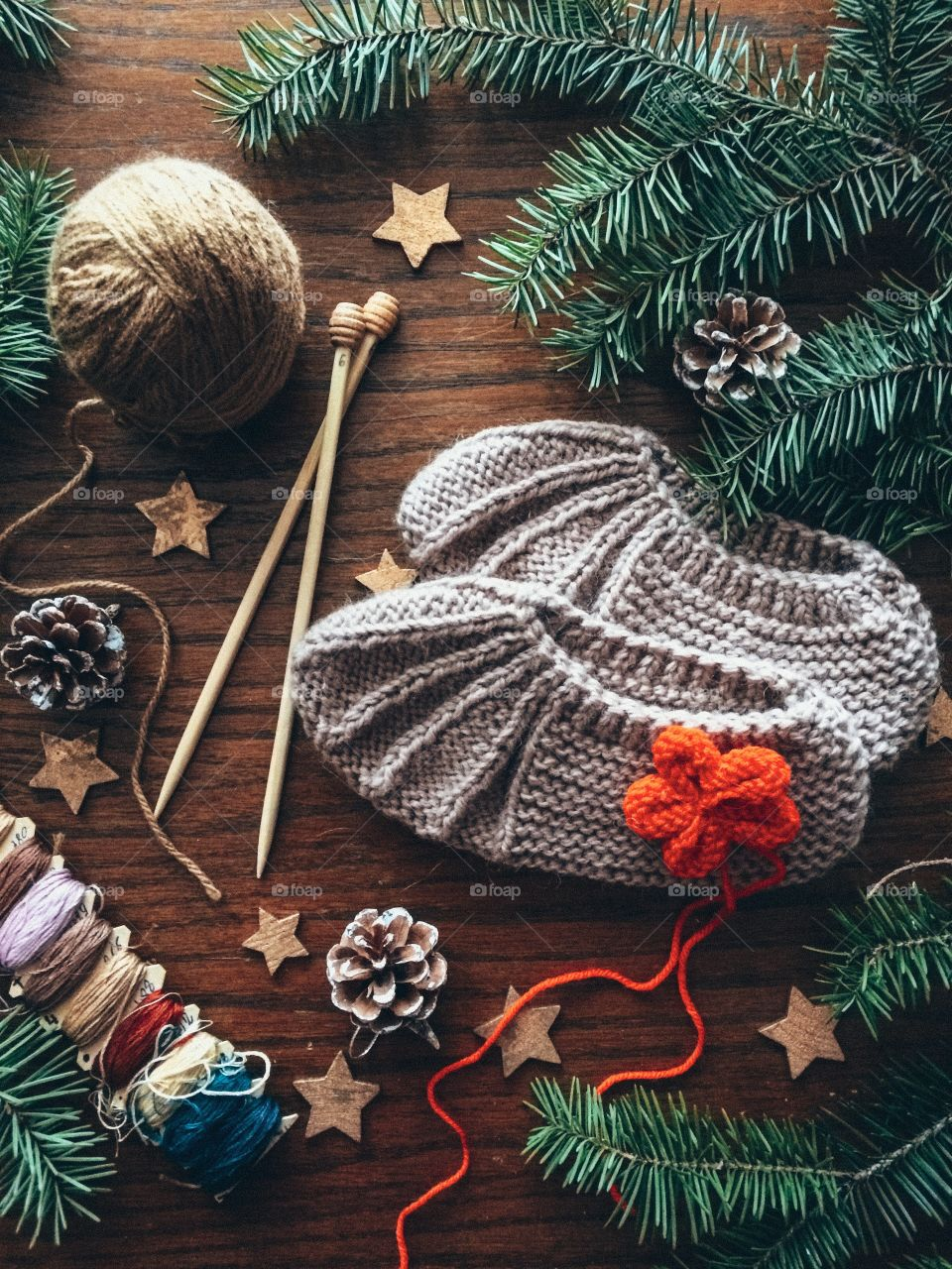 I love knitting and I definitely want to do that more this year. Scarfs, hats, sweaters, cute socks, I will make them all!