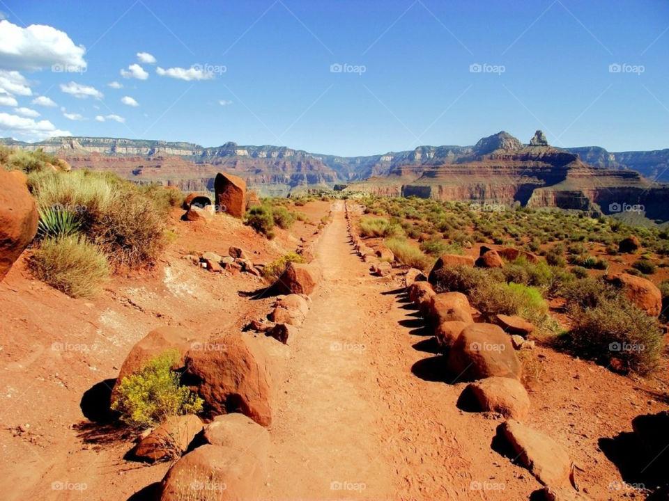 red path usa arizona by Balloo