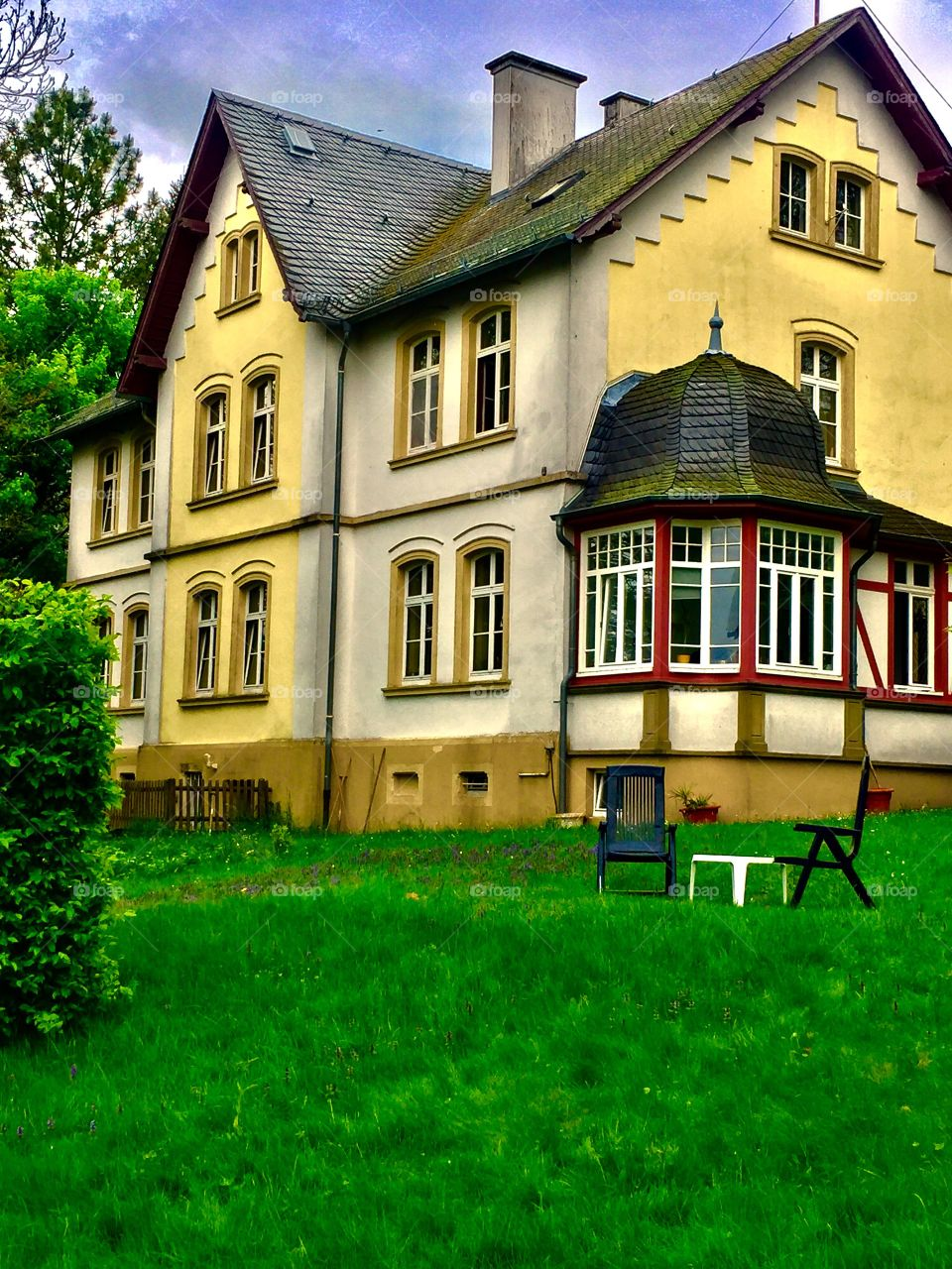 Seat for Two.  Morbach, Germany