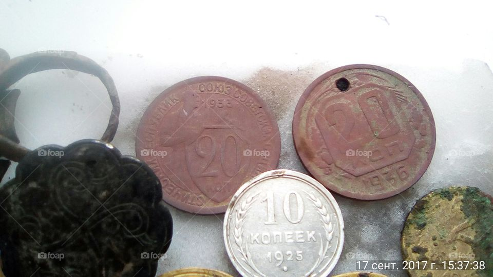 Silver and copper-nickel alloy