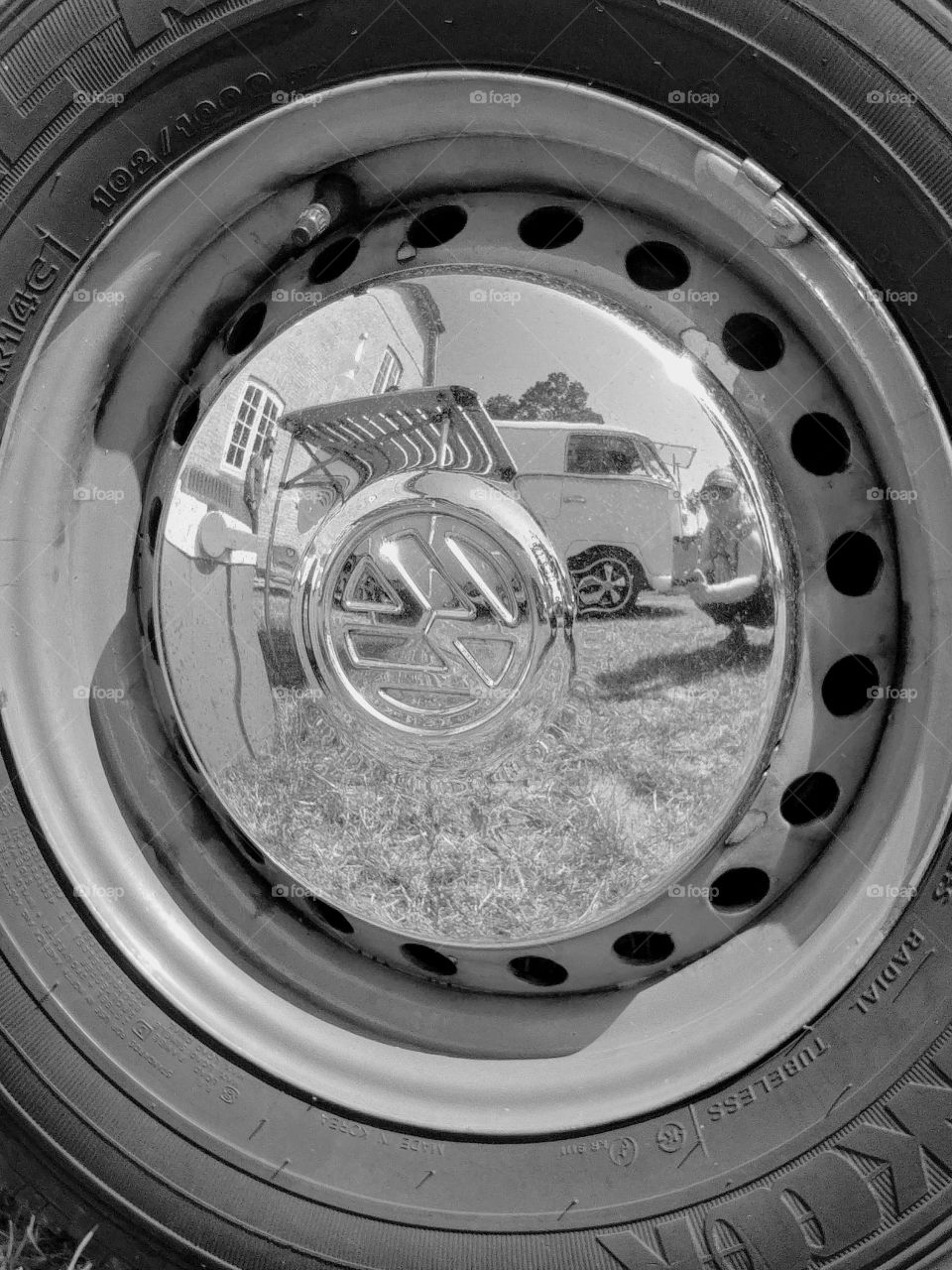 Oldtimer auto rad car Auto Felge Radkappe spiegel rund
