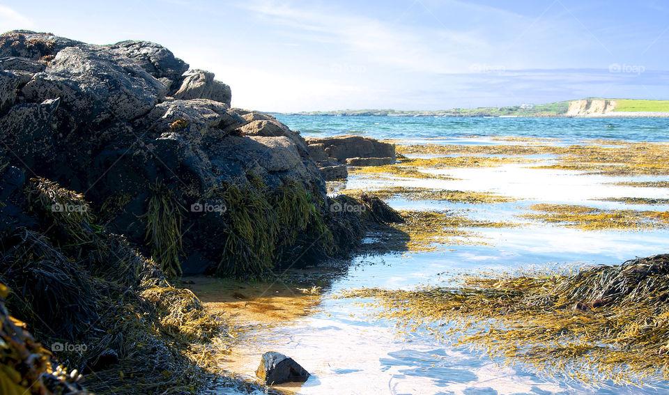 nature ireland sea rocks by resnikoffdavid