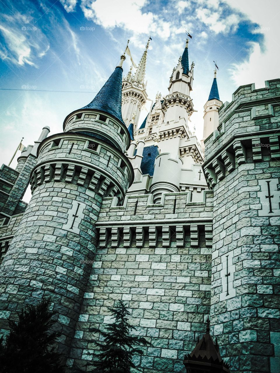 Cinderella Castle Walt Disney World. Grab your glass slippers and make a run for it.