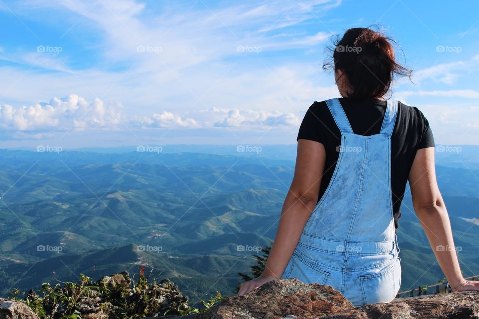Beautiful valleys and mountains in Brazil