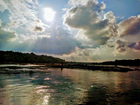 Reflections on the James River