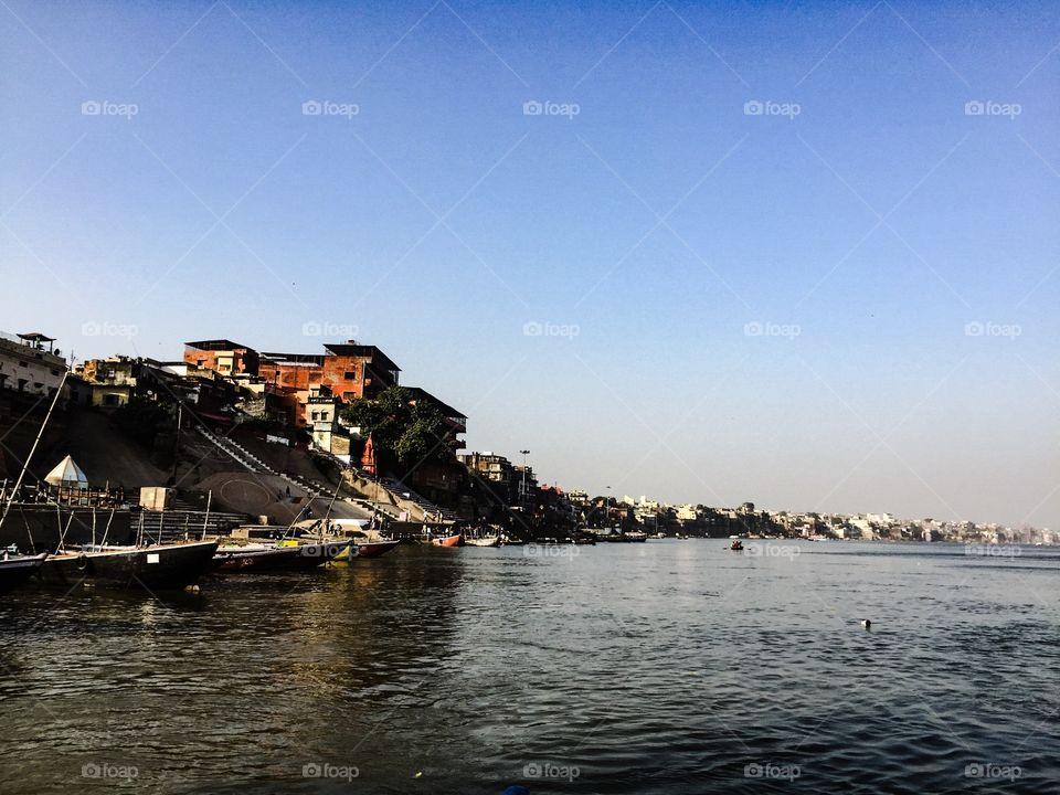 River view of varanasi
