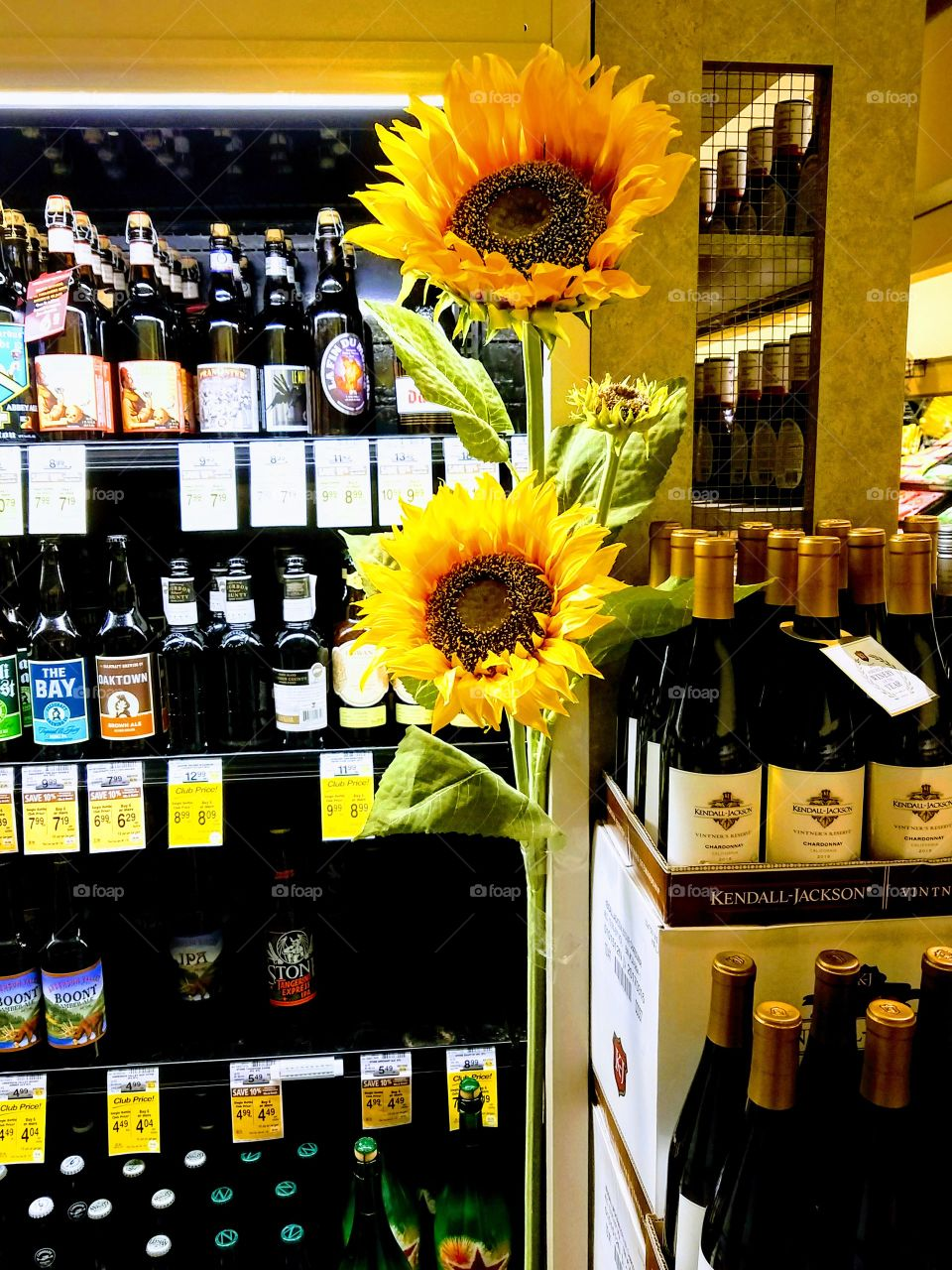 Liquor and Sunflowers