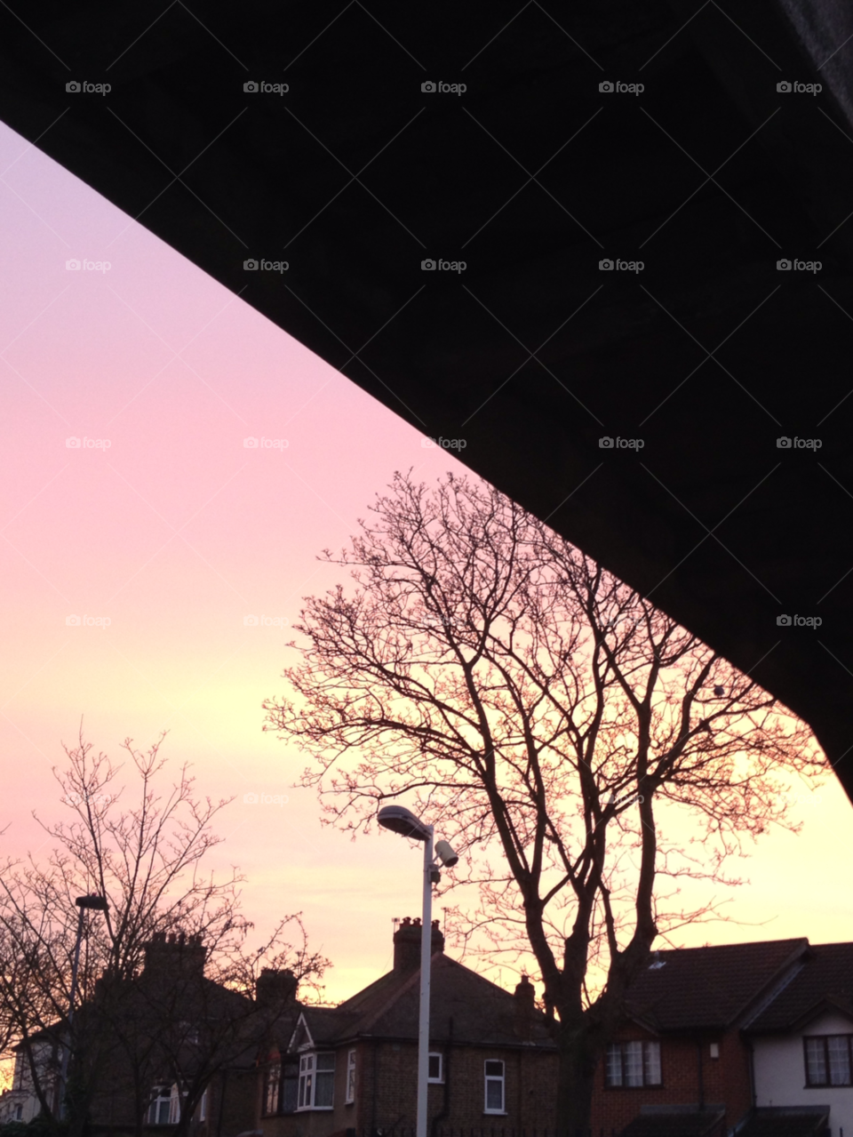 hounslow london london sunrise pink sky by capturedshutter
