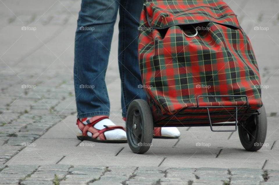 leg feeth bag