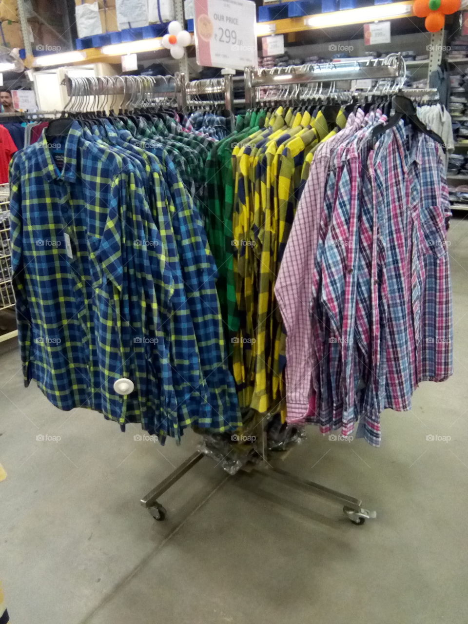 Readymade shirts- wear it and save your time and money.