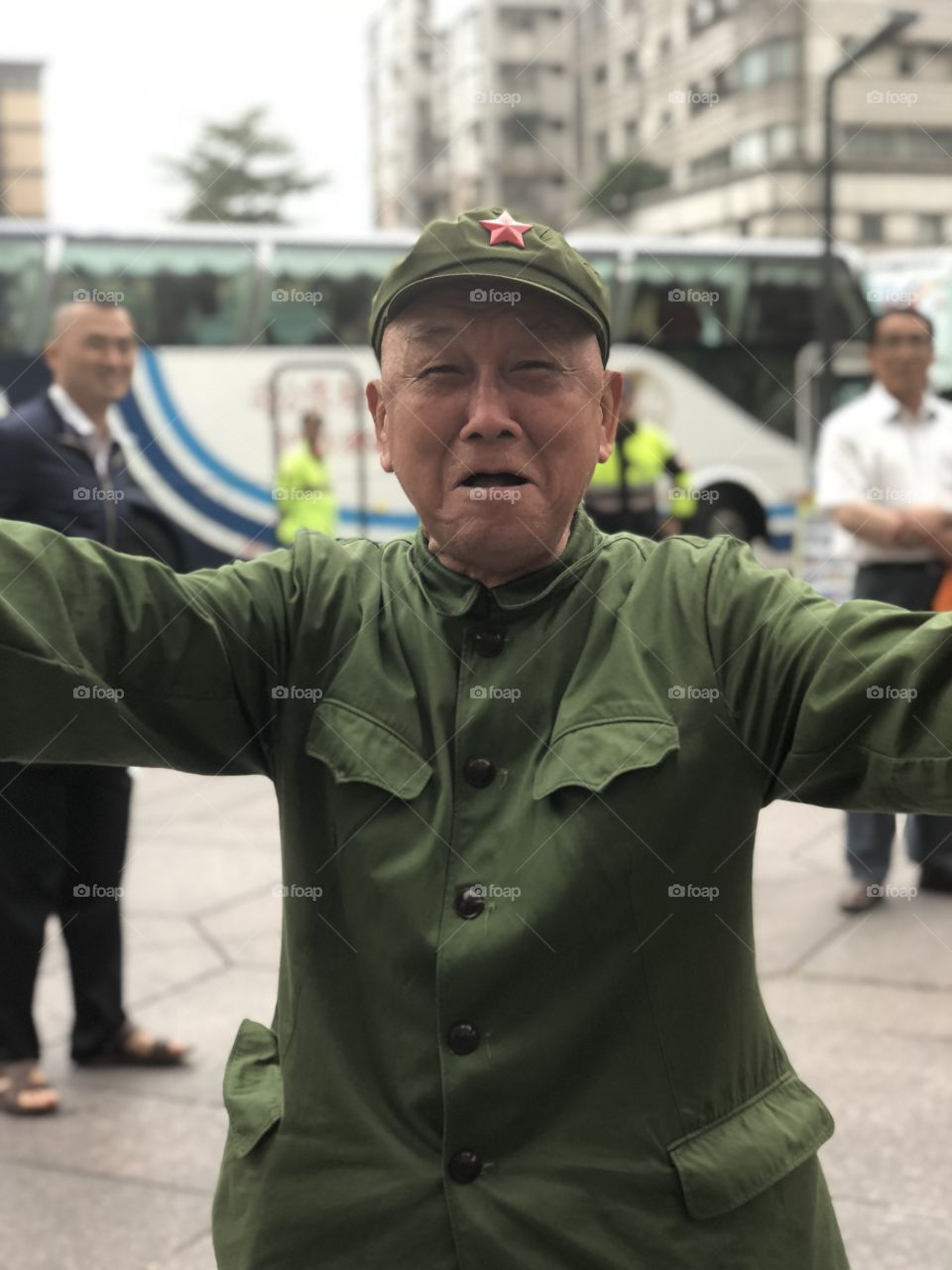 Activist in Taiwan promoting Chinnese rule
