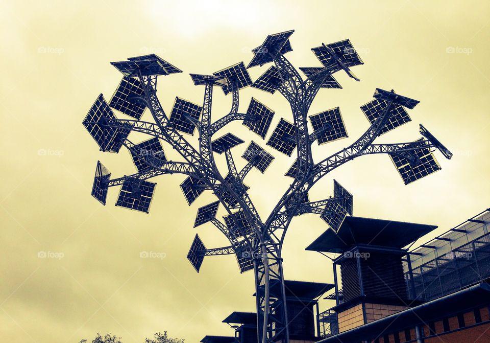 Art, design, solar panels