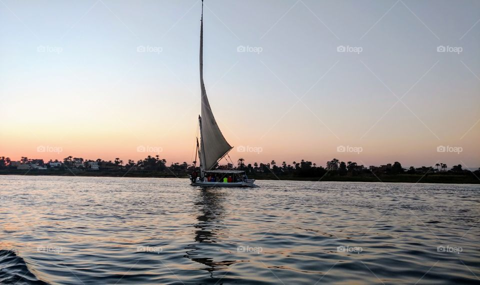 Nile River - Luxor - Egypt