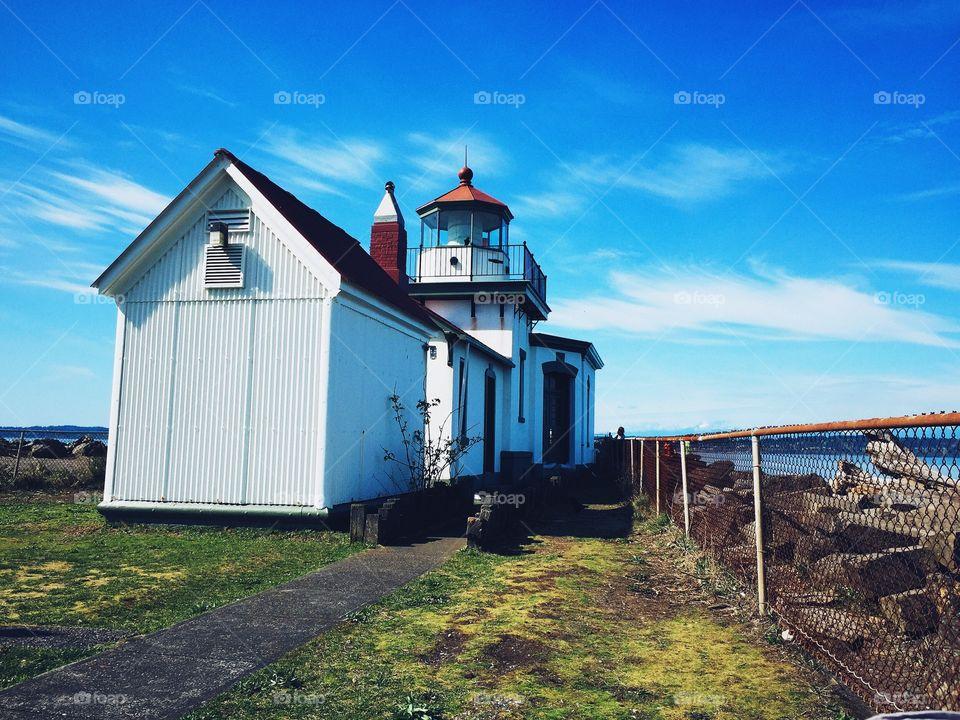 Light house. Light house in seattle