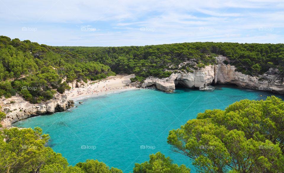 Menorca balearic island