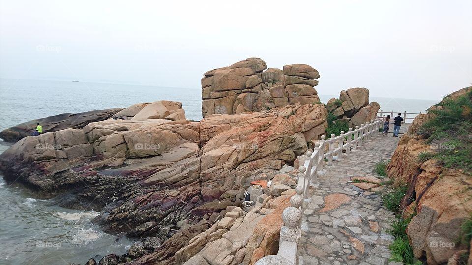 Seashore, Water, Travel, No Person, Sea