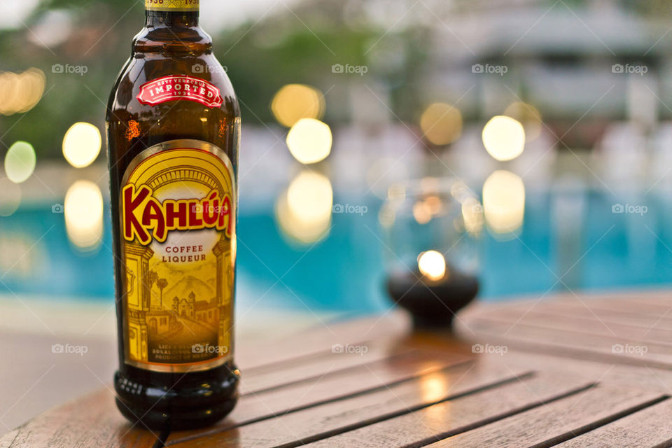 Kahlua by the pool