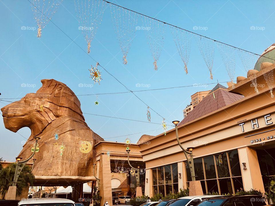 Pyramid shopping mall