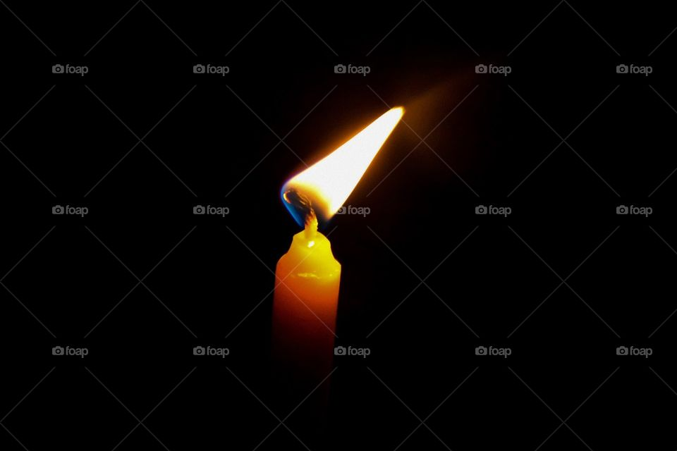 Candle . Keep walking to the light, you will meet exit.
