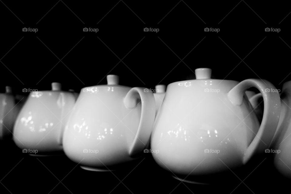 Still life pots