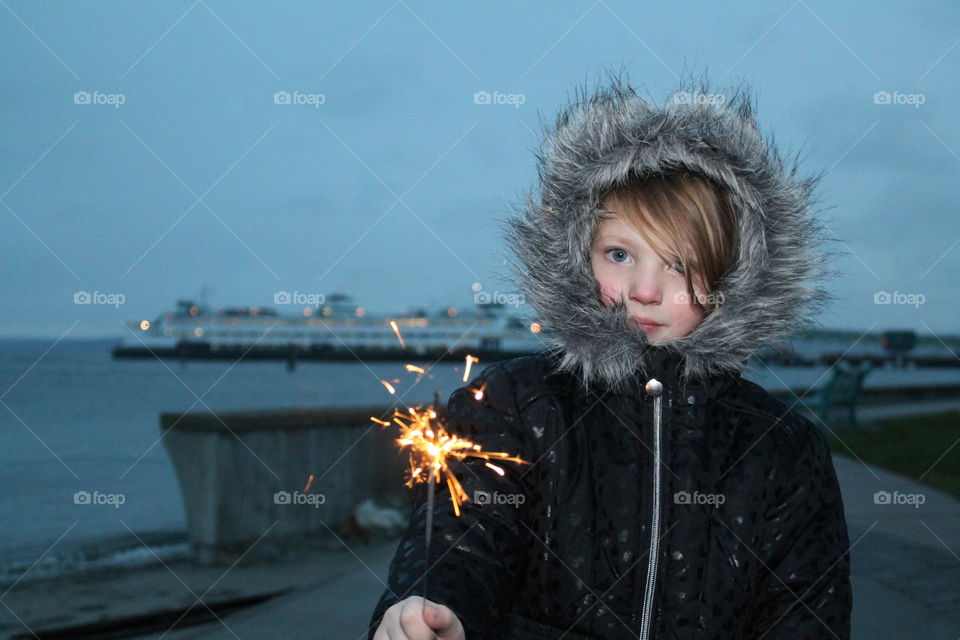 sparklers and photography